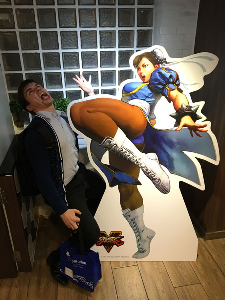 Phil and Chun Li