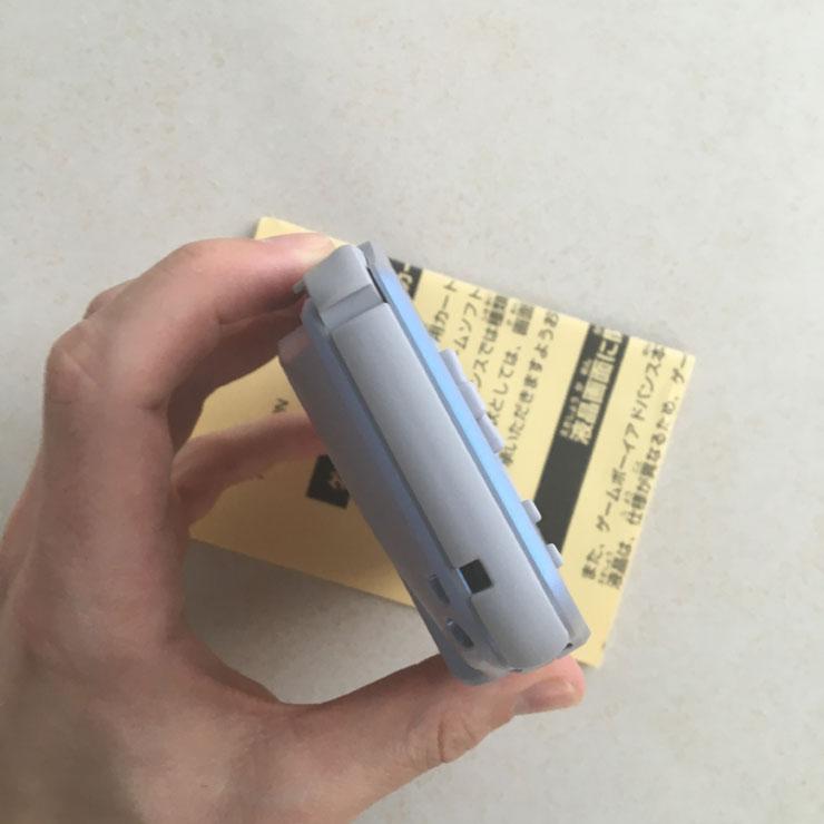 GameBoy Advance - left