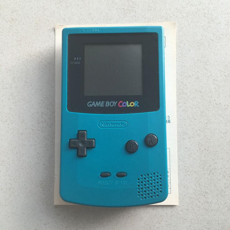 GameBoy Color - Front