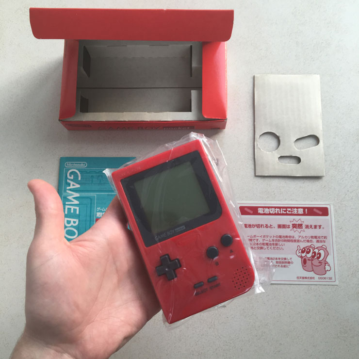 The Nintendo GameBoy Pocket - PlayEnthusiast com